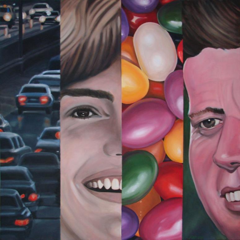 "36""x 36"" oil on canvas"