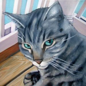 "12""x 12"" oil on canvas"