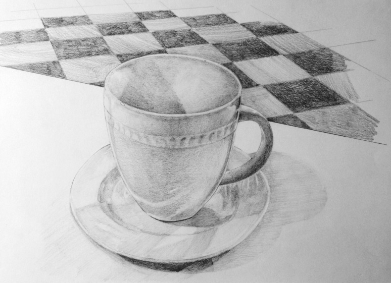 pencil drawing on paper