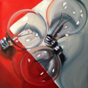 """8"""" x 8"""" oil on canvas - sold"""