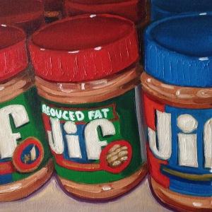 "10"" x 10"" oil on canvas"
