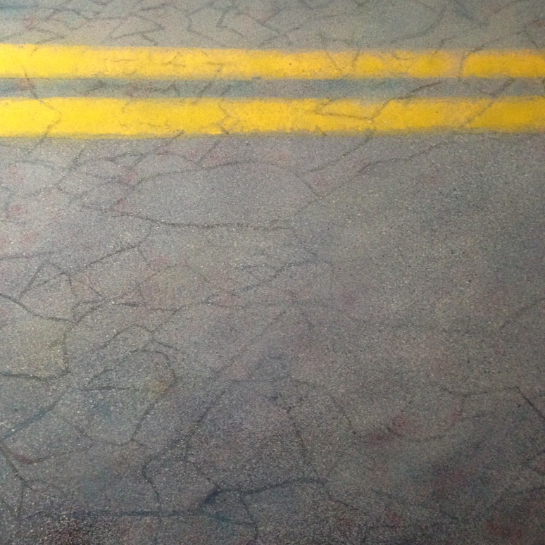"30""x 30"" oil on canvas"