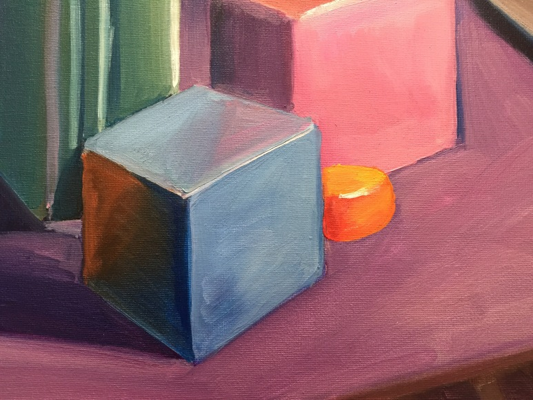 "11"" x 8.5"" oil on canvas"