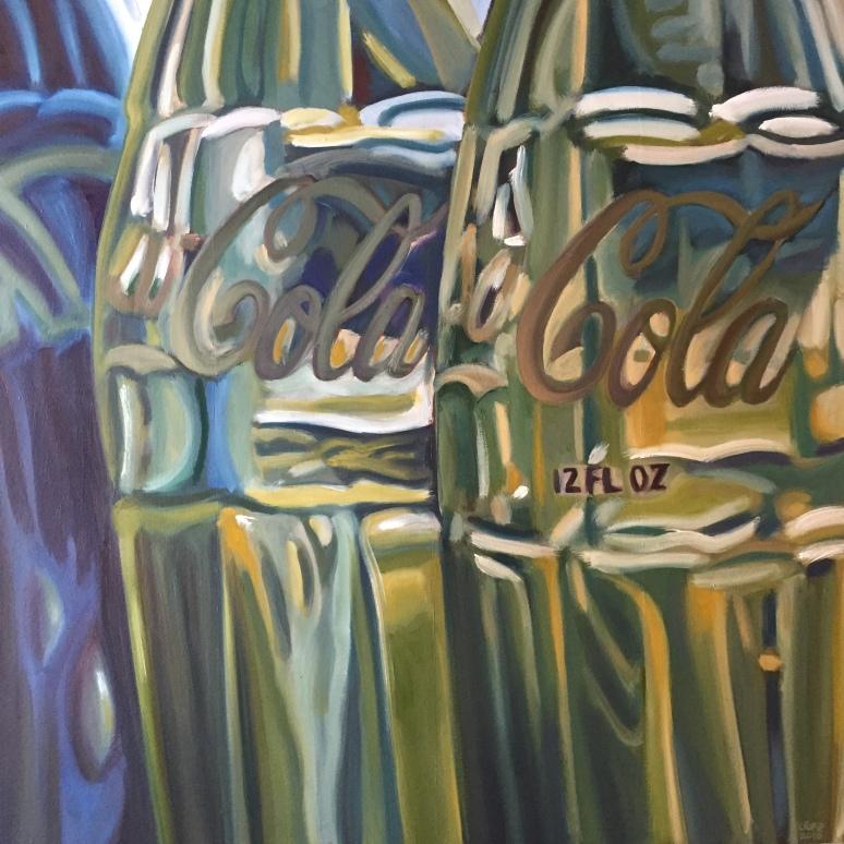 "36"" x 36"" oil on canvas"