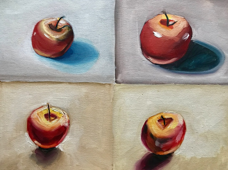 four apples a repost sort of craig ford fine art